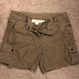 Jcrew broken in chino shorts